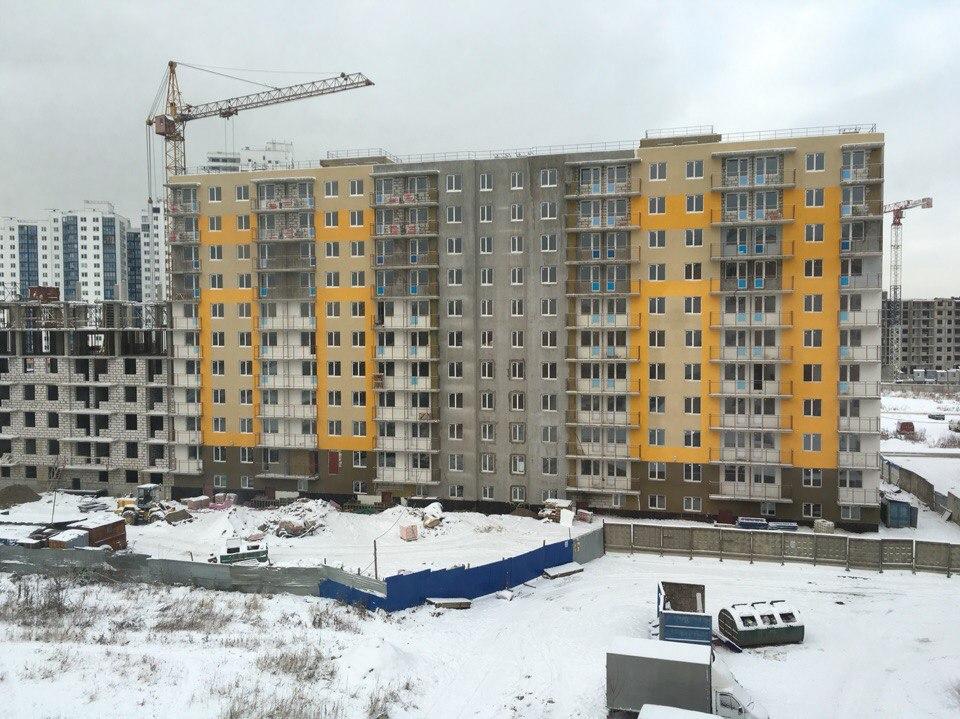Однакомнатная квартира пос. Свердлова на берегу Невы